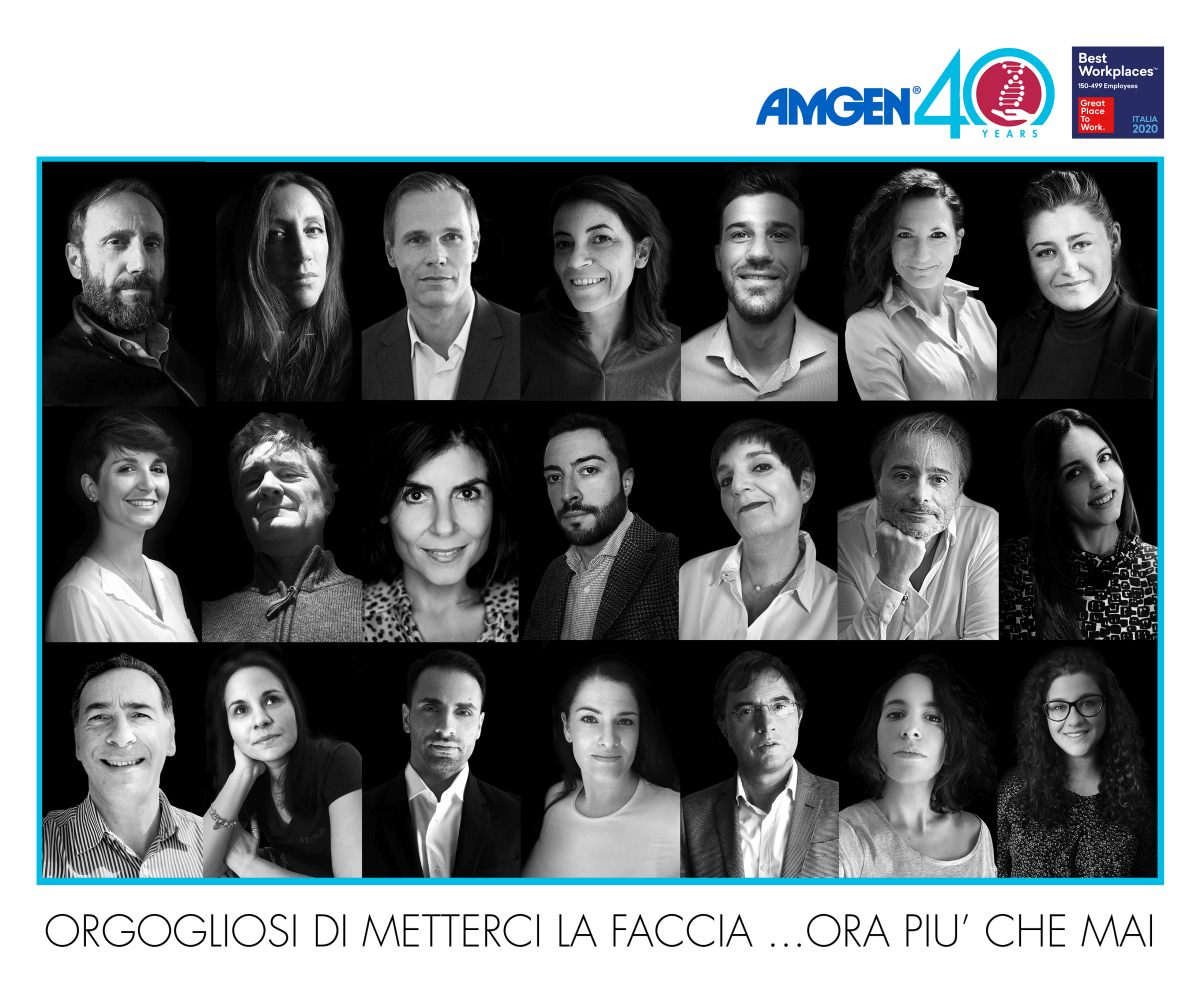 """Salute, Amgen si conferma """"Great place to work"""" in italia"""