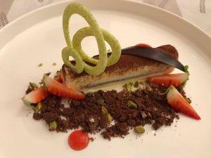 ricetta, chef, zuppa di pesce, vasocottura, Ignazio Interrante, associazione cuochi e pasticceri Palermo, tiramisù, tiramisù gourmet, ricetta,