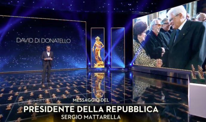 """""""Il traditore"""" trionfa ai David, Mattarella """"Cinema arte del sogno"""""""