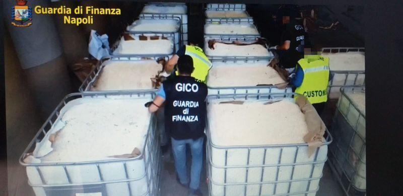 """Porto di Salerno, sequestrate 14 tonnellate di """"droga dell'Isis"""""""