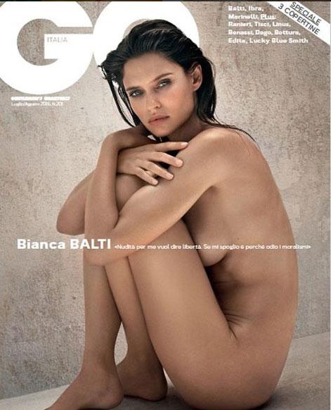 Bianca Balti senza veli su GQ: non voglio un uomo da accudire