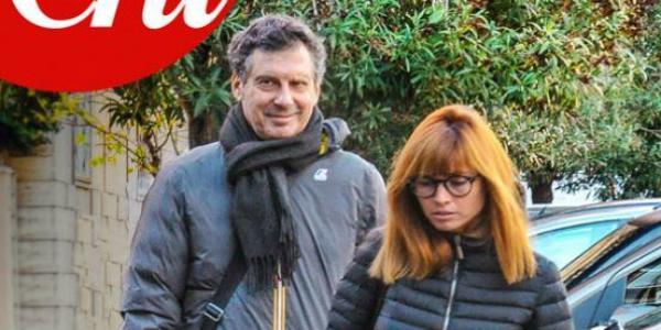Fabrizio Frizzi, su 'Chi' le prime foto dopo l'ischemia