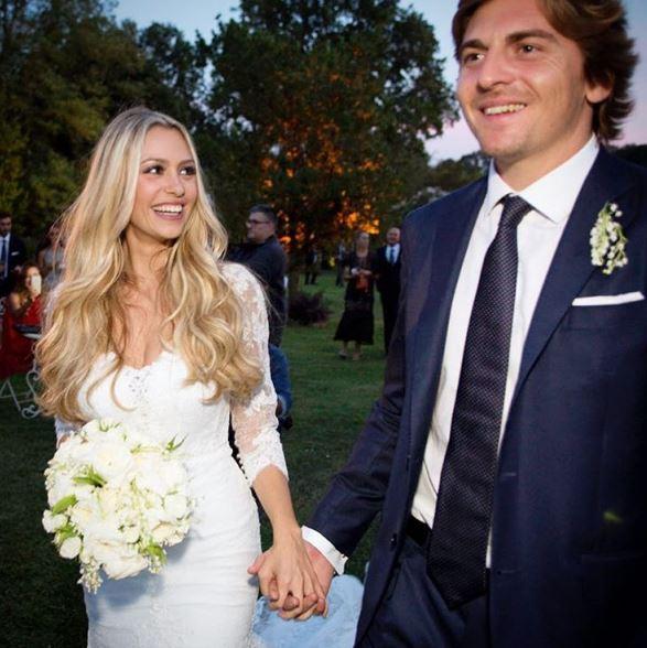 Martina Stella e Andrea, nozze da favola condivise sui social
