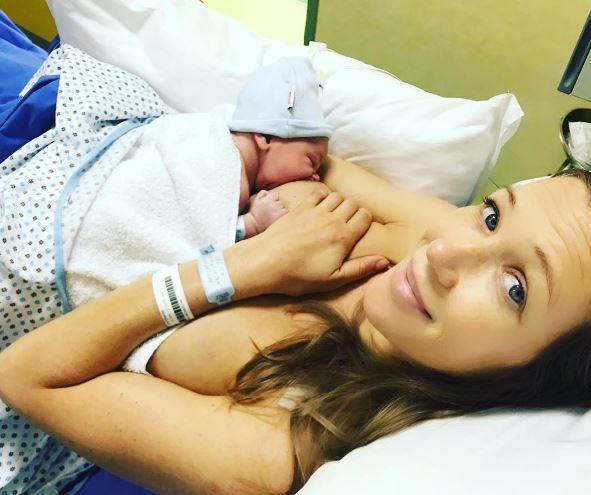 Fiocco azzurro per Ludmilla Radchenko e Matteo Viviani, è nato Nikita