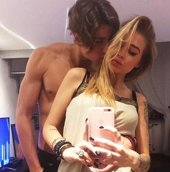 Niccolò Bettarini è fidanzato con la fashion blogger Ginevra Lambruschi